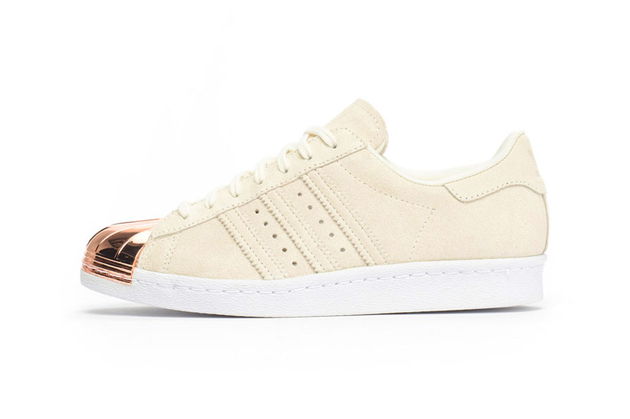 Adidas Superstar 80s Metal Toe White/White/Copper