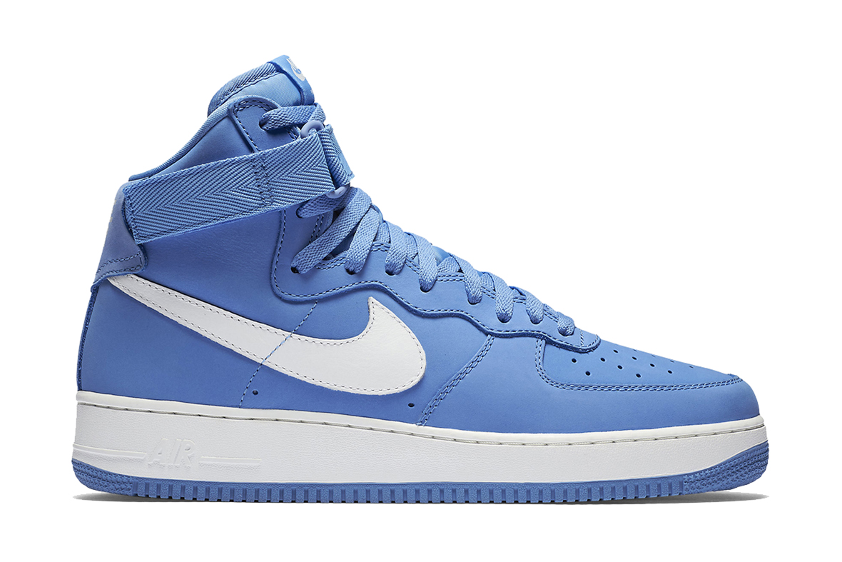 nike air force 1 high baby blue hypebeast. Black Bedroom Furniture Sets. Home Design Ideas