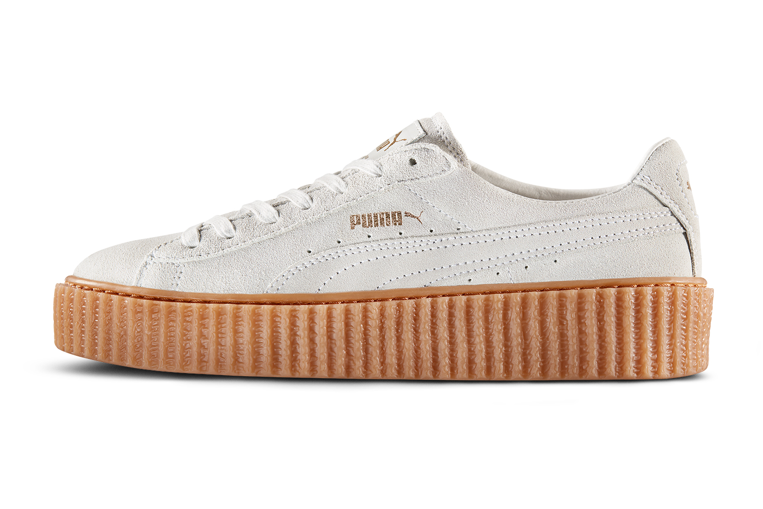 de94jhif authentic puma rihanna creepers white buy authentic. Black Bedroom Furniture Sets. Home Design Ideas
