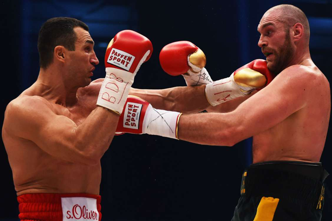 tyson fury fight video
