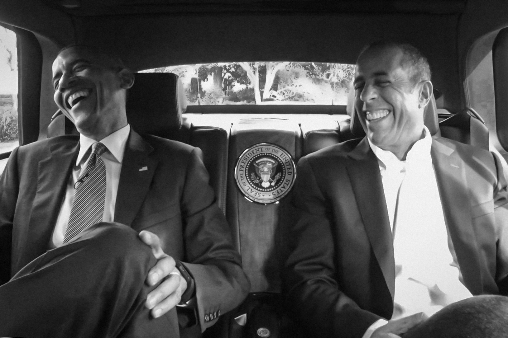 Comedians Cars Getting Coffee Obama