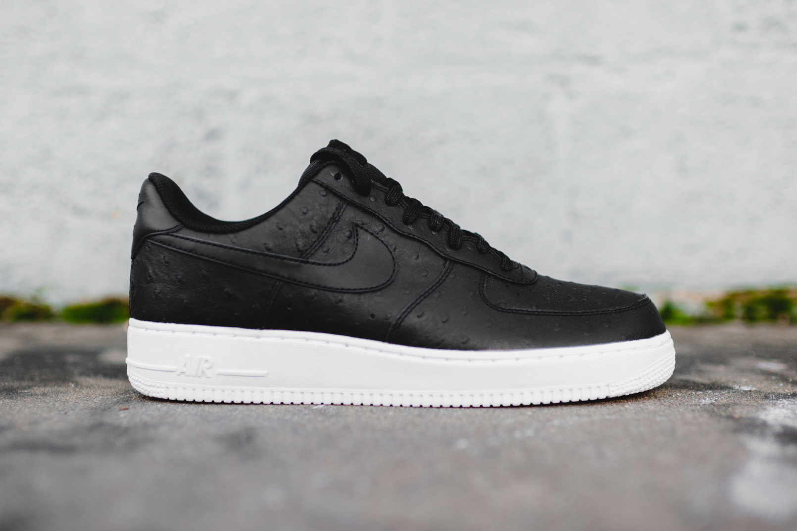 nike air force 1 ostrich skin hypebeast. Black Bedroom Furniture Sets. Home Design Ideas