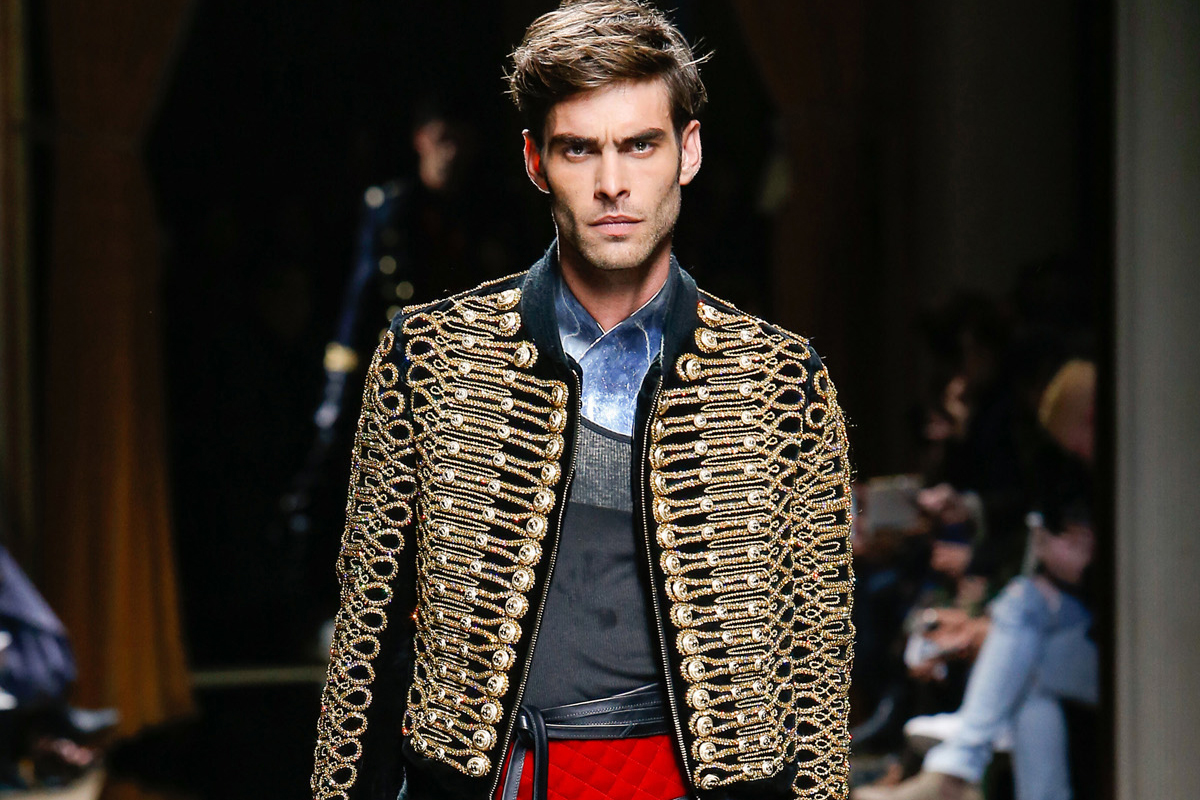 """""""It's about an infinite summer—one with no ending,"""" said Olivier Rousteing of the Balmain Resort collection."""