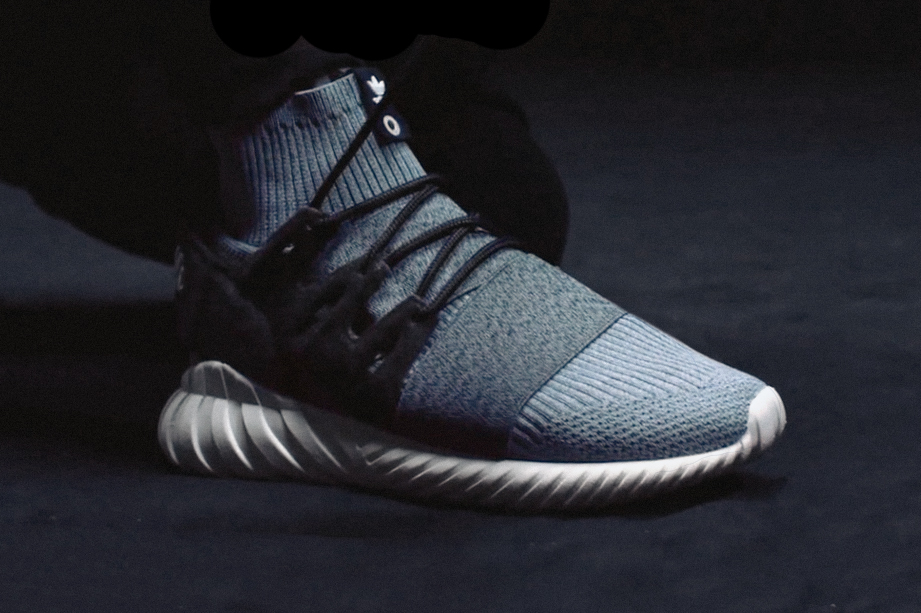 Adidas Tubular Nova and Tubular Doom In Reflective Snakeskin for