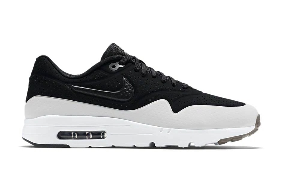 nike air max 1 ultra moire black white smoke hypebeast. Black Bedroom Furniture Sets. Home Design Ideas