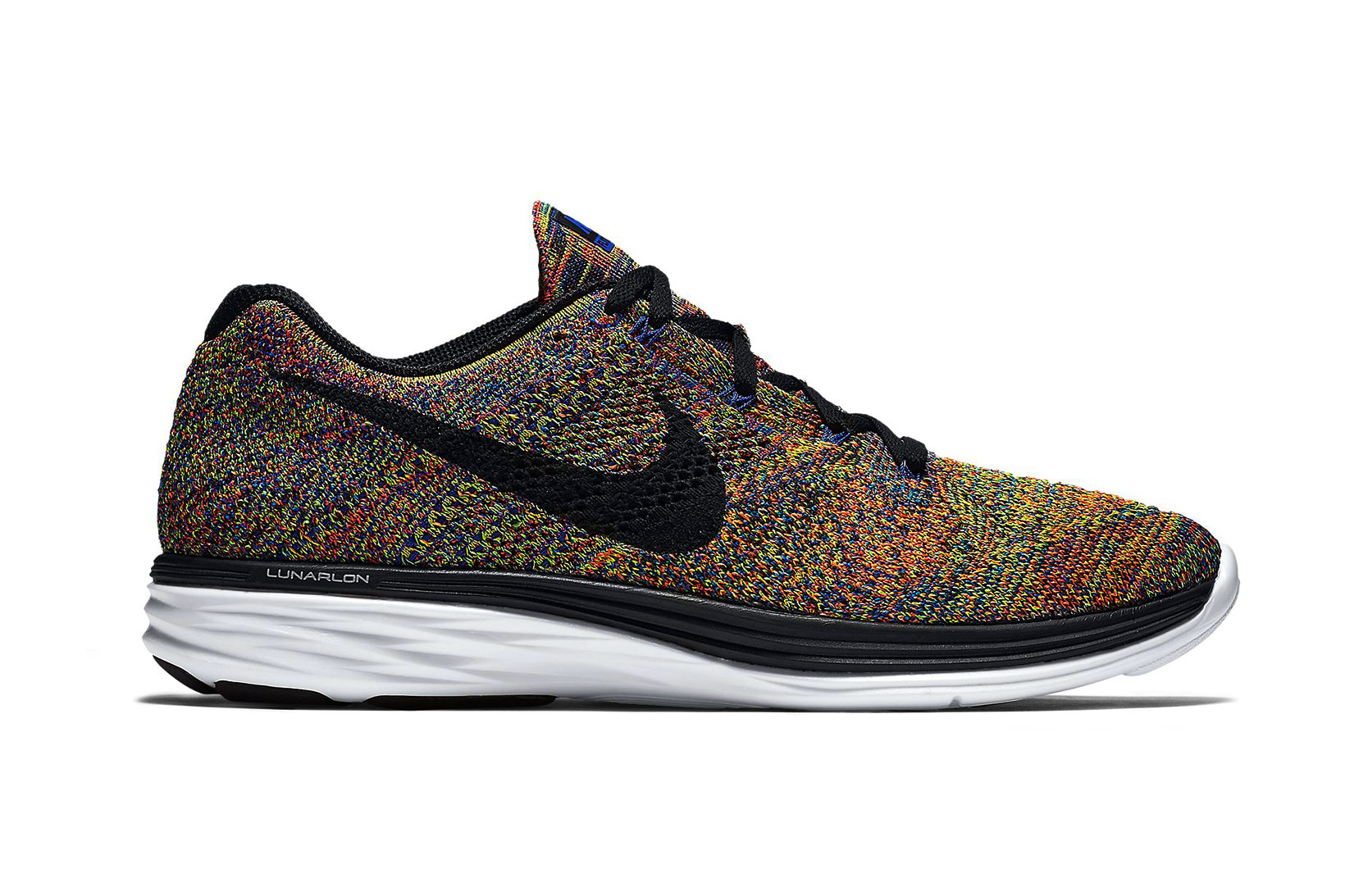 nike flyknit lunar 3 in multicolor hypebeast. Black Bedroom Furniture Sets. Home Design Ideas