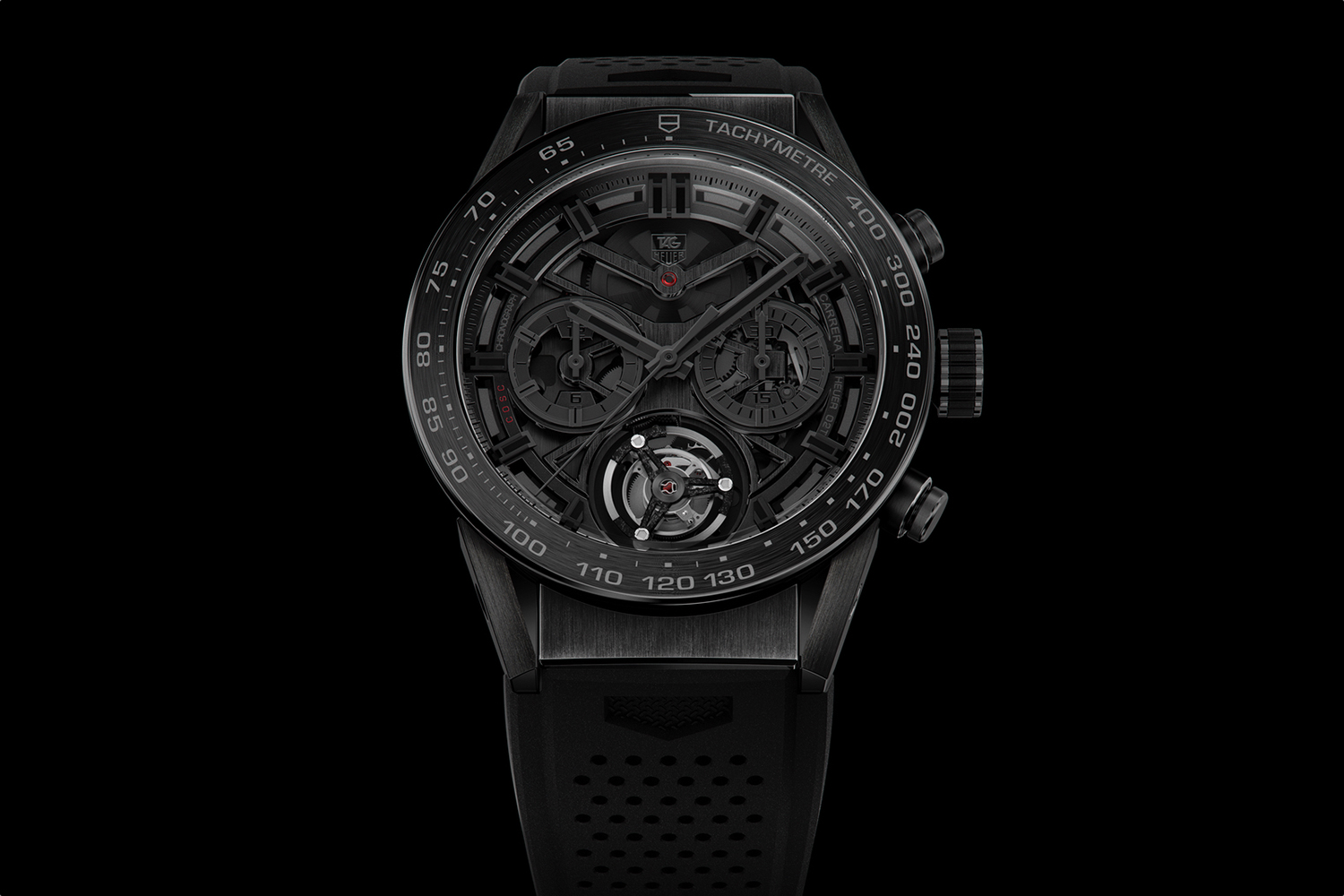 TAG Heuer Carrera Heuer 02T Tourbillon Black Phantom