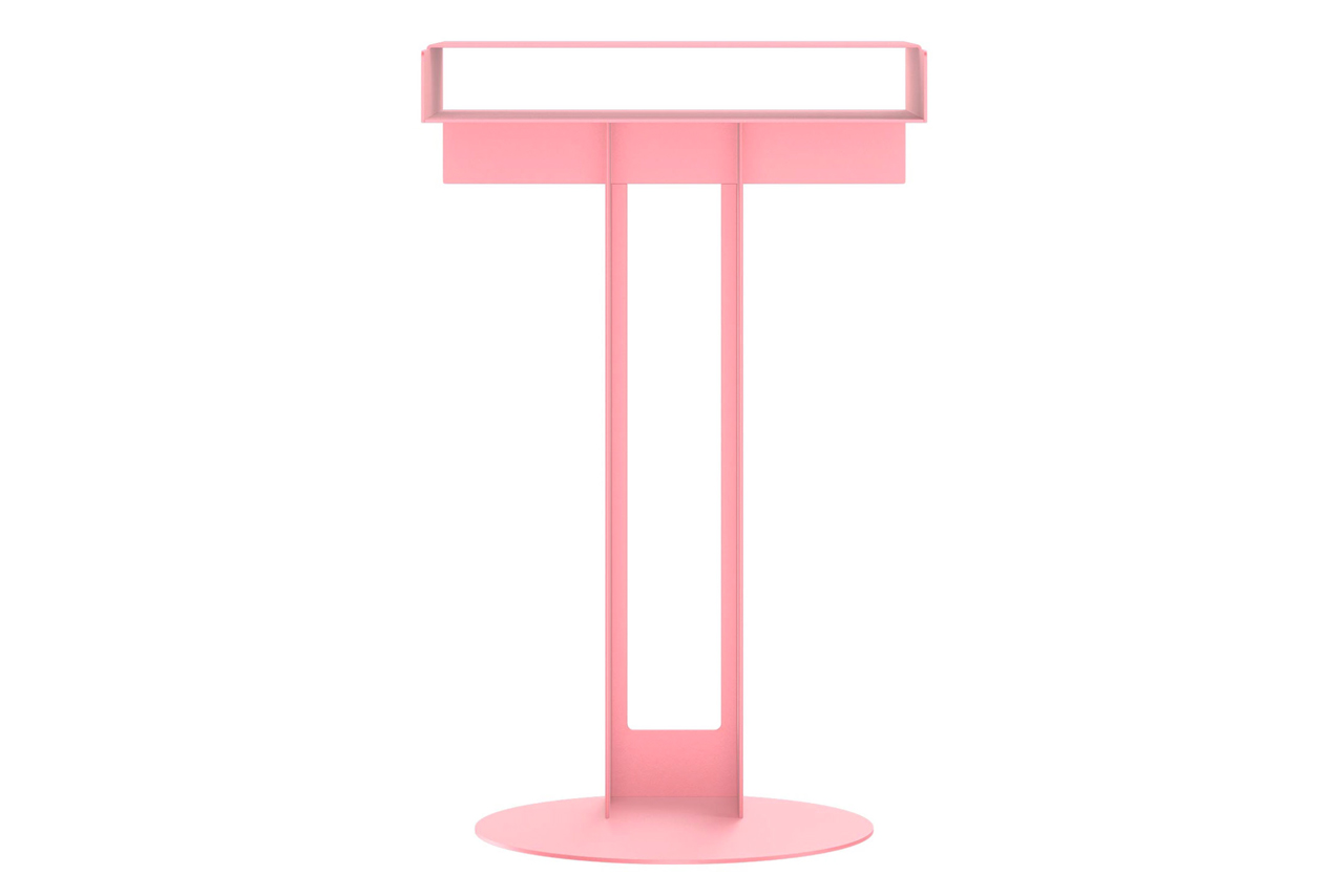 New tendency meta side table pink hypebeast for Table th 00 02