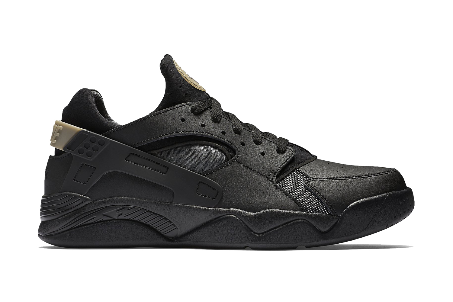 Air Huarache Low Black White
