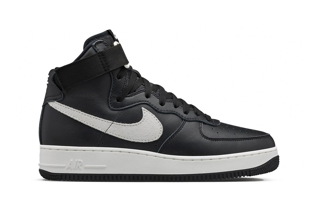 Nike Air Force Black And White High