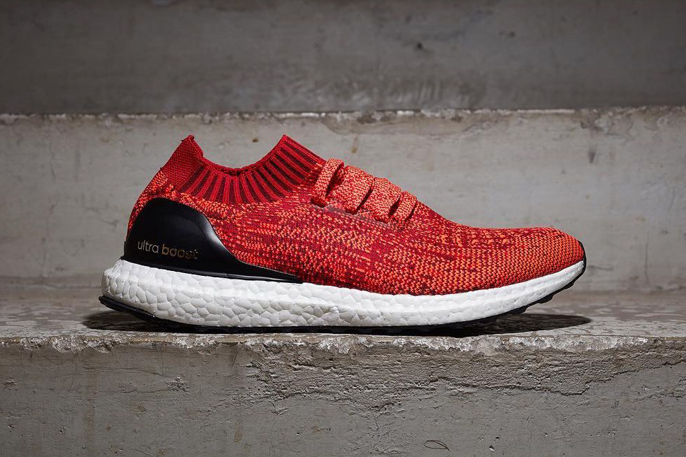 adidas ultra boost uncaged red hypebeast. Black Bedroom Furniture Sets. Home Design Ideas