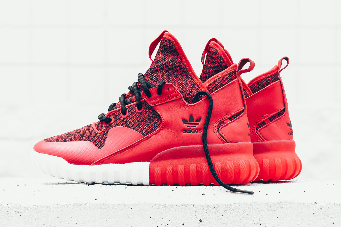 adidas originals tubular red