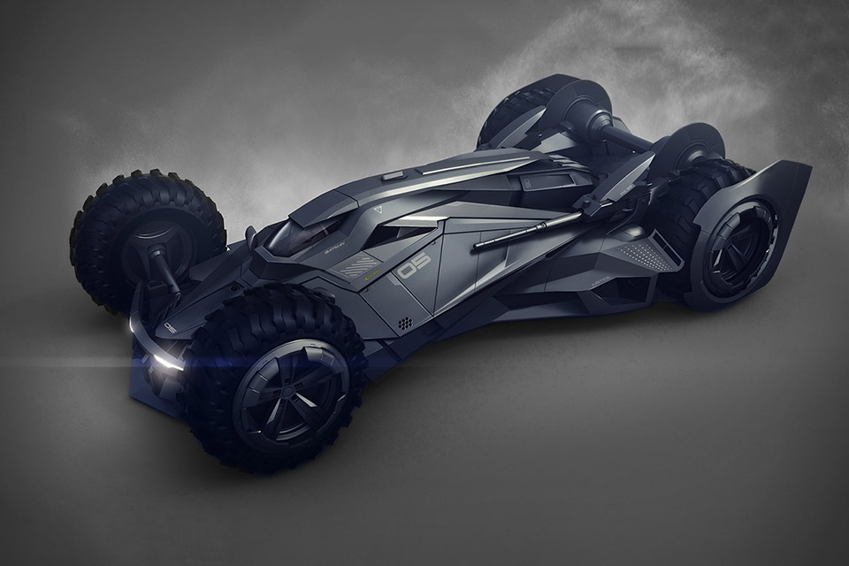 Encho Enchev Imagines The Batmobile Of The Future