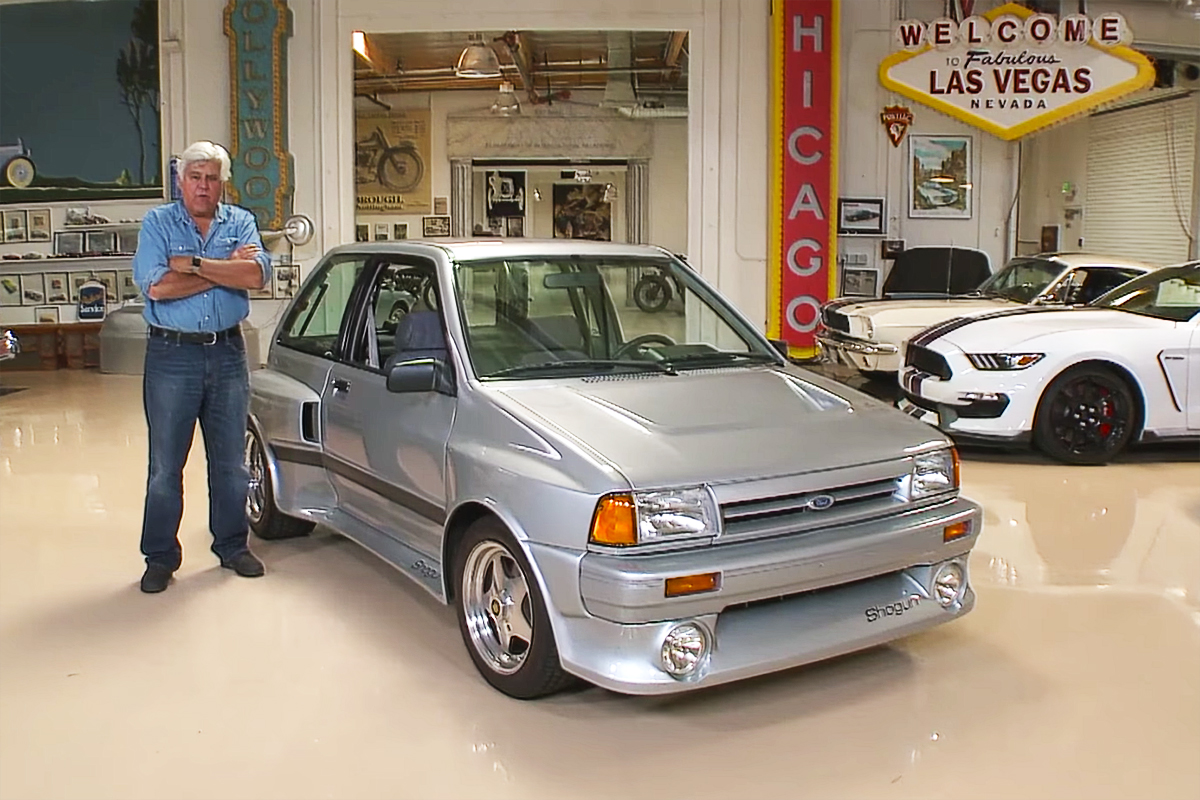 Jay Leno Garage Showcases His Ford Shogun V6