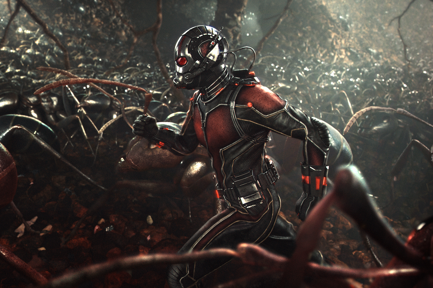 Ant Man Joins The Team In New Captain America Civil War