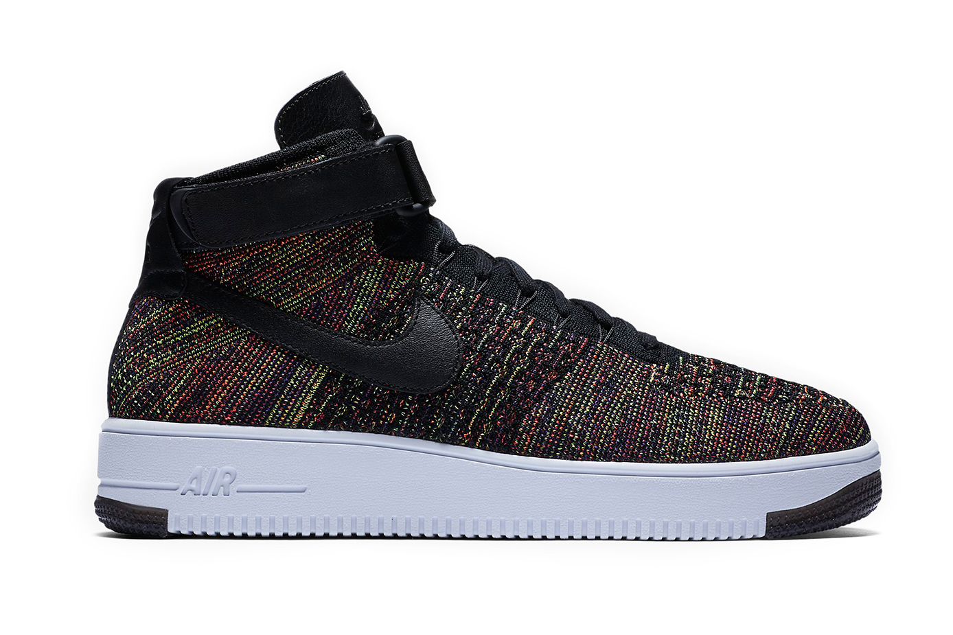 nike air force 1 mid flyknit multicolor hypebeast. Black Bedroom Furniture Sets. Home Design Ideas