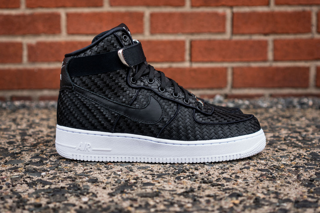 nike air force 1 high lv8 woven sneaker hypebeast. Black Bedroom Furniture Sets. Home Design Ideas