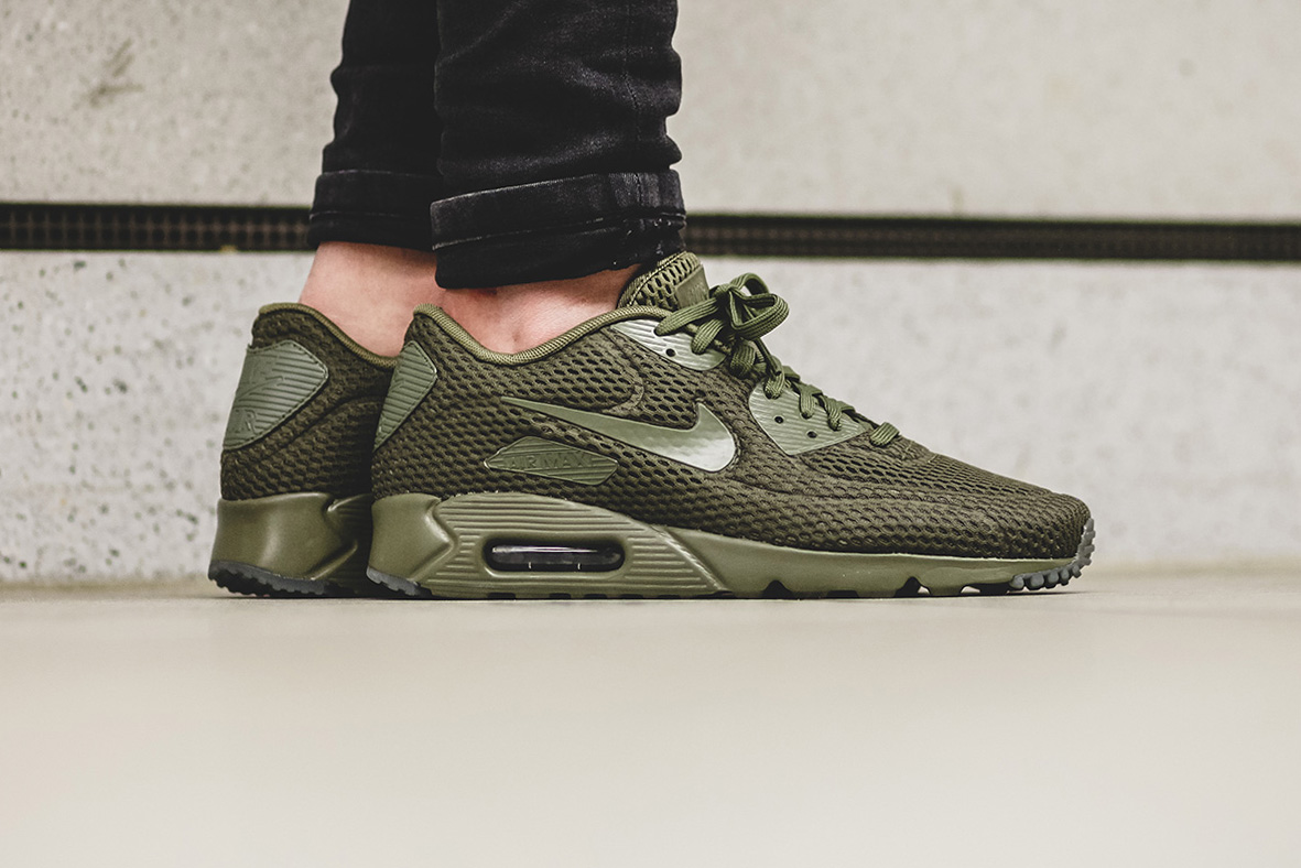 nike air max 90 ultra br medium olive hypebeast. Black Bedroom Furniture Sets. Home Design Ideas