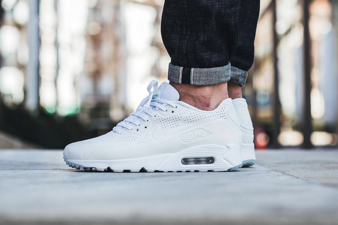Air Max 90 Ultra Moire White