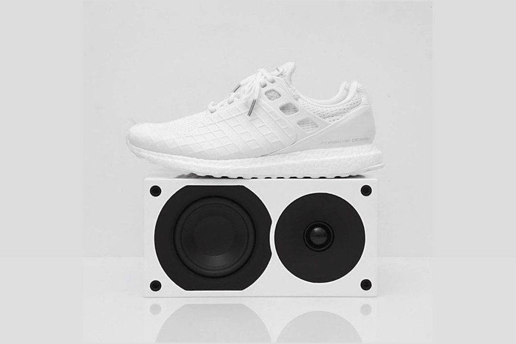 porsche design x adidas ultra boost triple white hypebeast. Black Bedroom Furniture Sets. Home Design Ideas