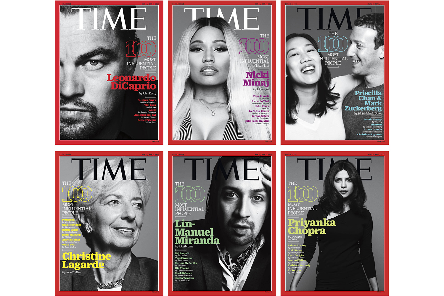most influential person Some of the people mentioned on the time 100 list include president donald trump, oprah winfrey, jimmy kimmel, meghan markle and more.