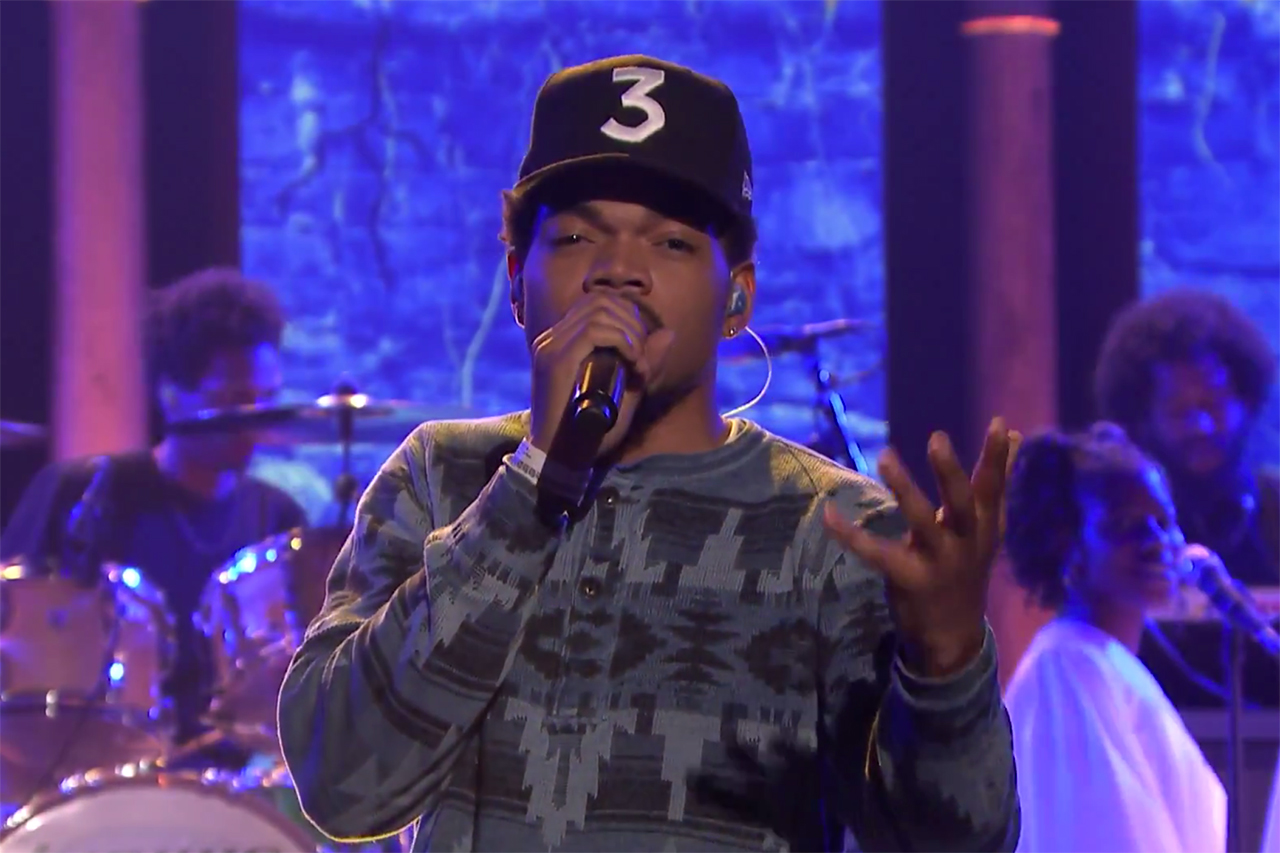 Chance The Rappers Coloring Book Is First Streaming