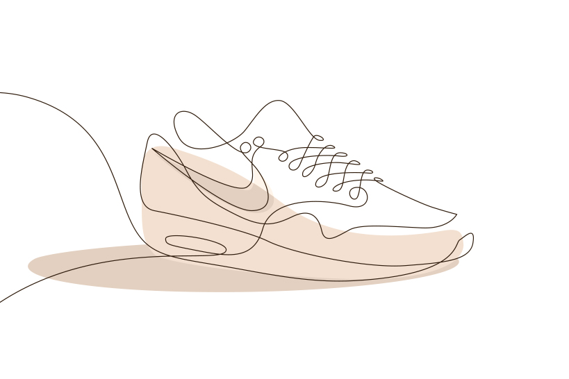 One Line Artwork : Differantly studios one line sneaker drawings hypebeast