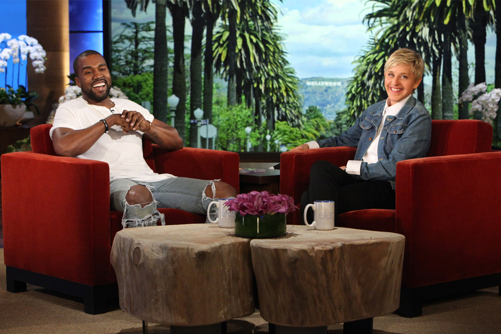 Kanye West Leaves Ellen and Audience in Silence After ...