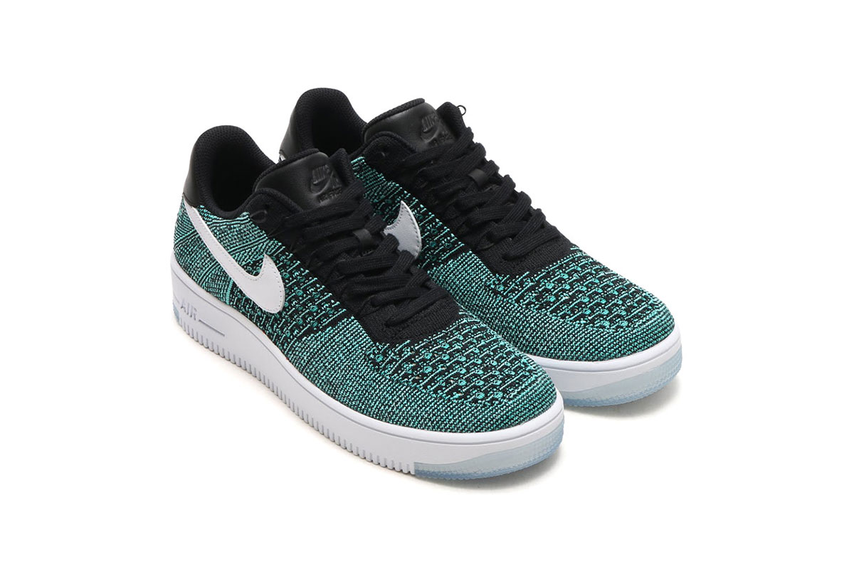 nike air force 1 ultra flyknit low hyper jade sneaker. Black Bedroom Furniture Sets. Home Design Ideas