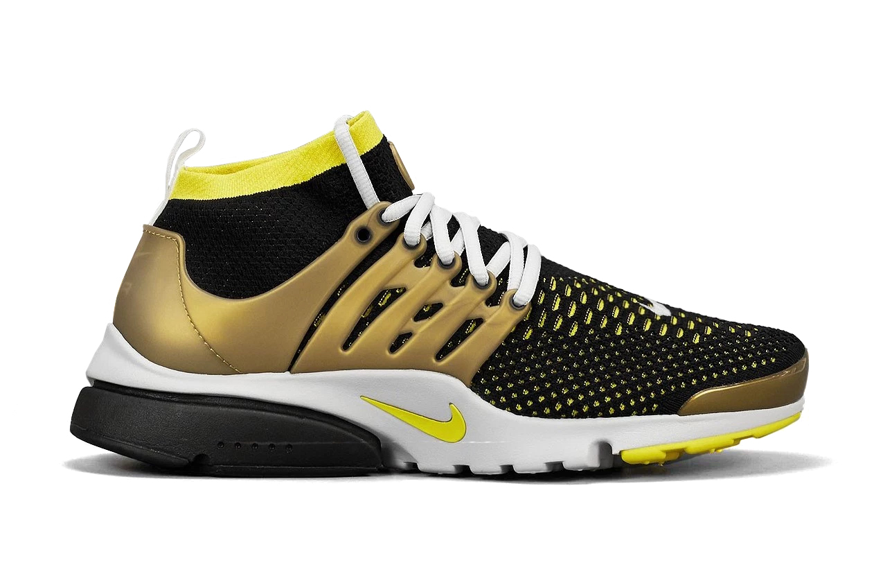 nike air presto flyknit ultra gold hypebeast. Black Bedroom Furniture Sets. Home Design Ideas