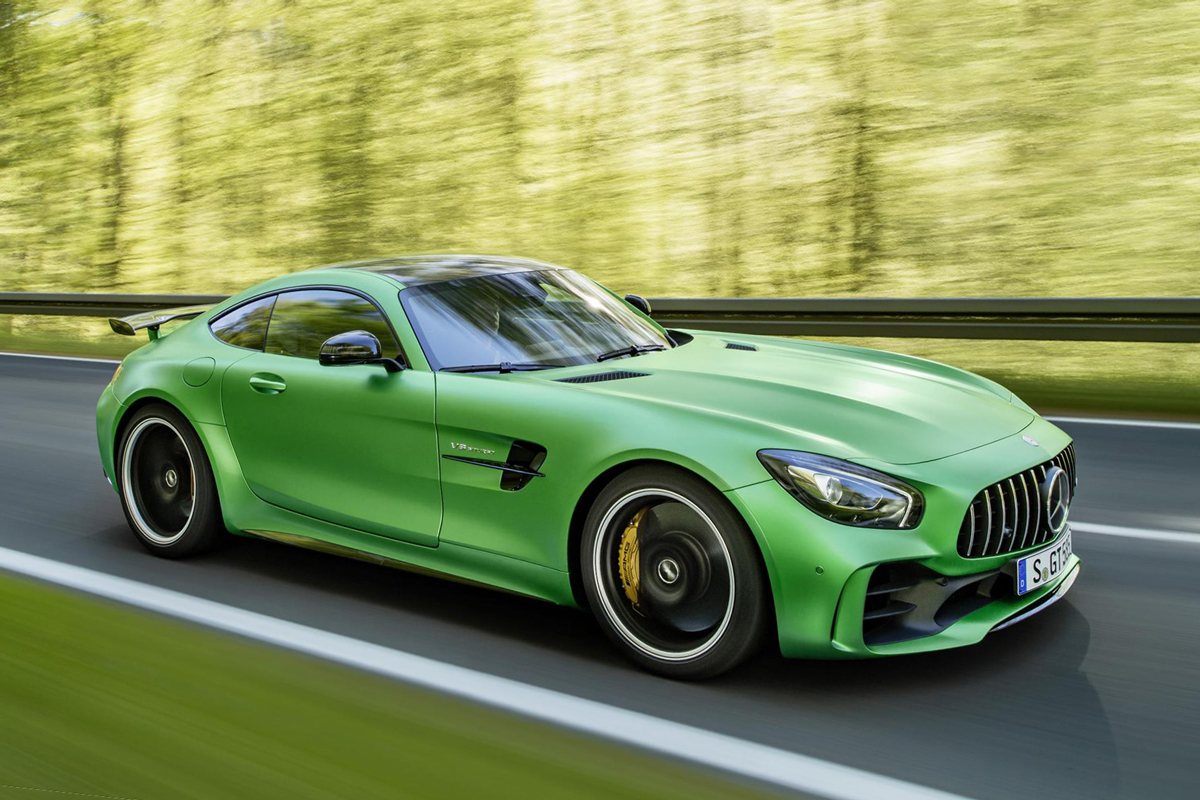 green mercedes amg gt r hypebeast. Black Bedroom Furniture Sets. Home Design Ideas
