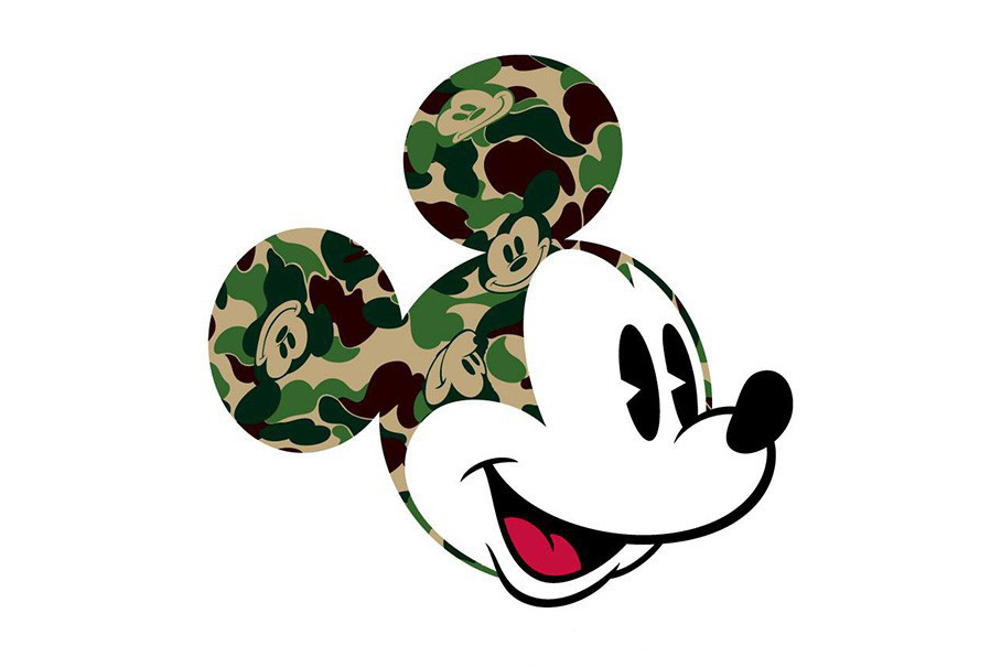 BAPE X Disney Mickey Mouse Collection
