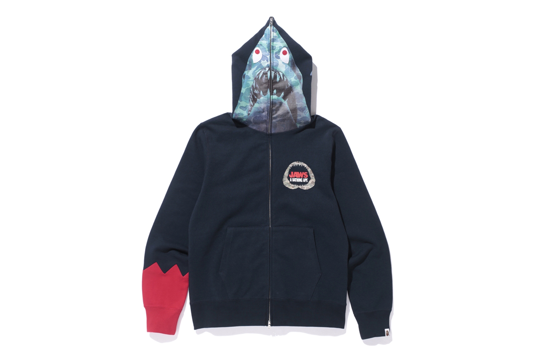 Bape X Jaws Collaboration HYPEBEAST