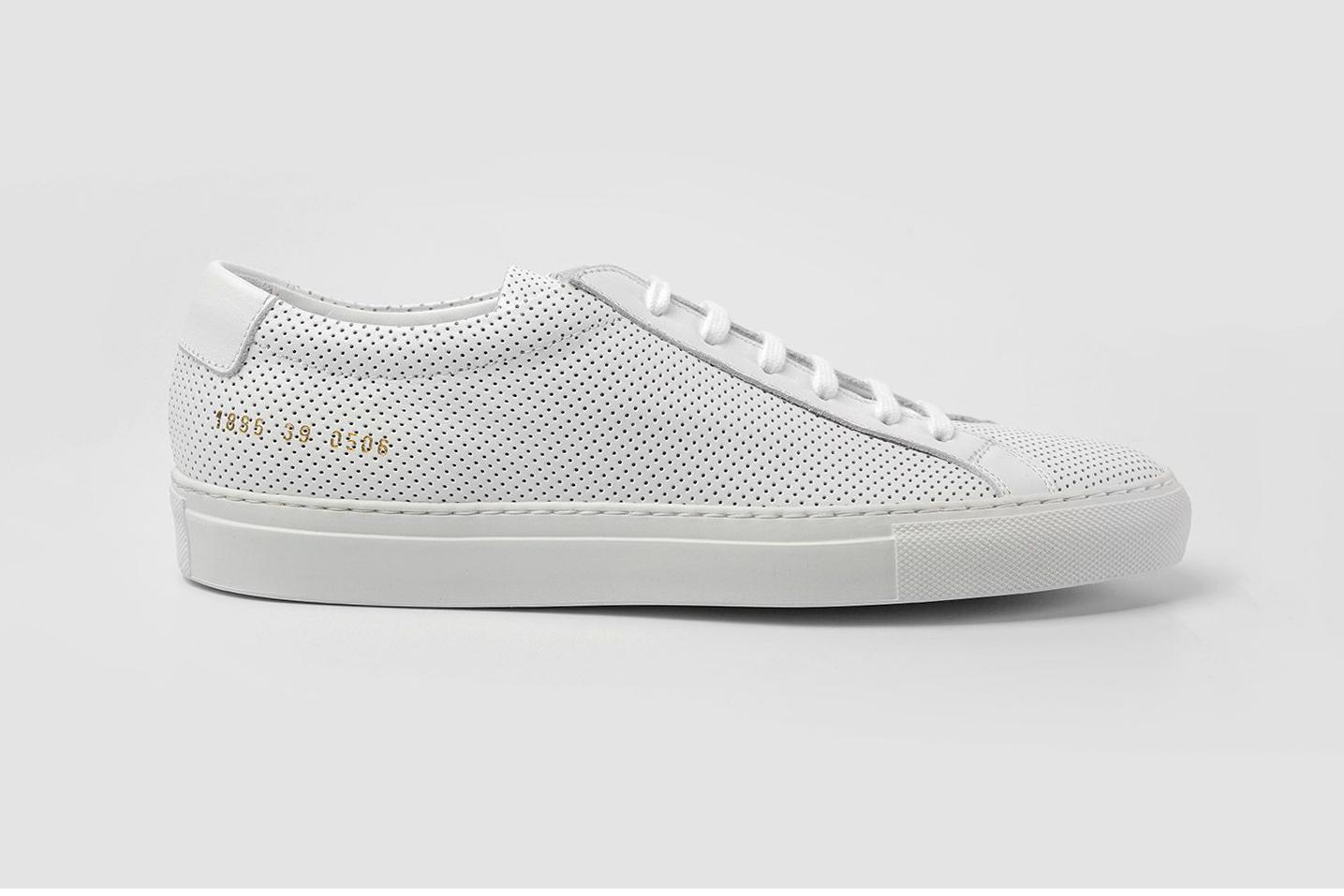 Common Projects Achilles Low Perforated White Sneaker | HYPEBEAST