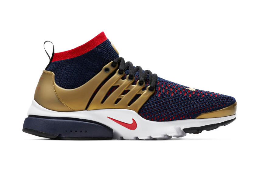 nike air presto ultra flyknit gold medal hypebeast. Black Bedroom Furniture Sets. Home Design Ideas