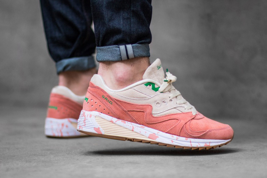 """Saucony Grid 8000 """"Lobster Roll"""" 