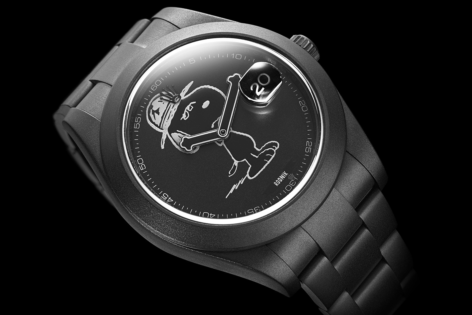 Bamford watch department x dsm snoopy watch hypebeast for Snoopy watches