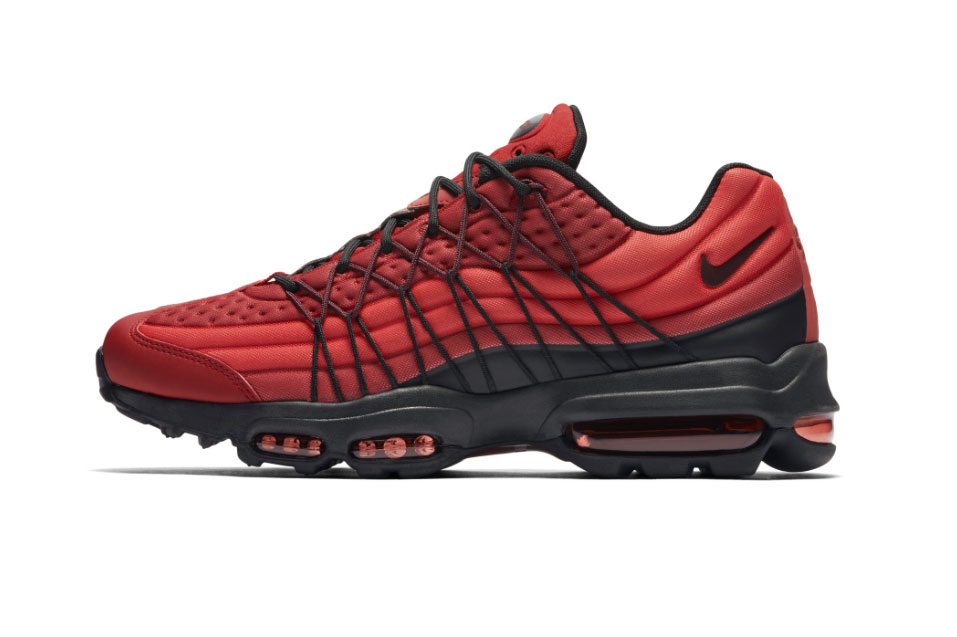 nike air max 95 ultra se in gym red sneakers hypebeast