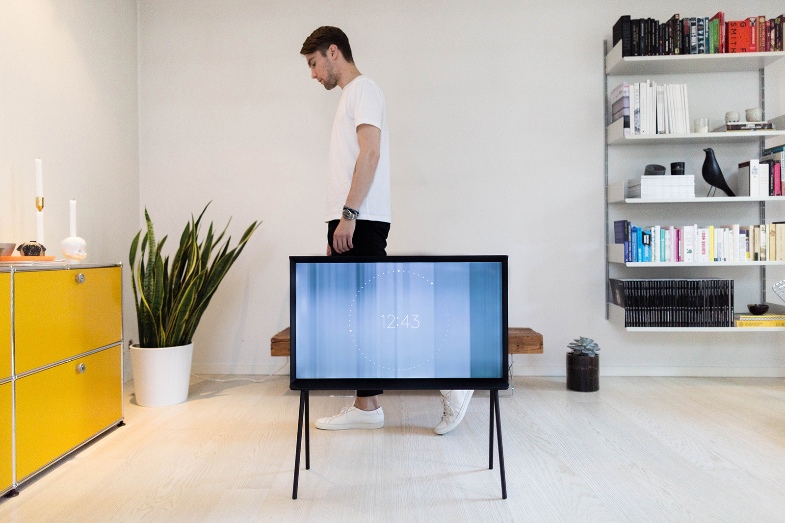 fredrik risvik speaks on design and the samsung serif tv hypebeast. Black Bedroom Furniture Sets. Home Design Ideas