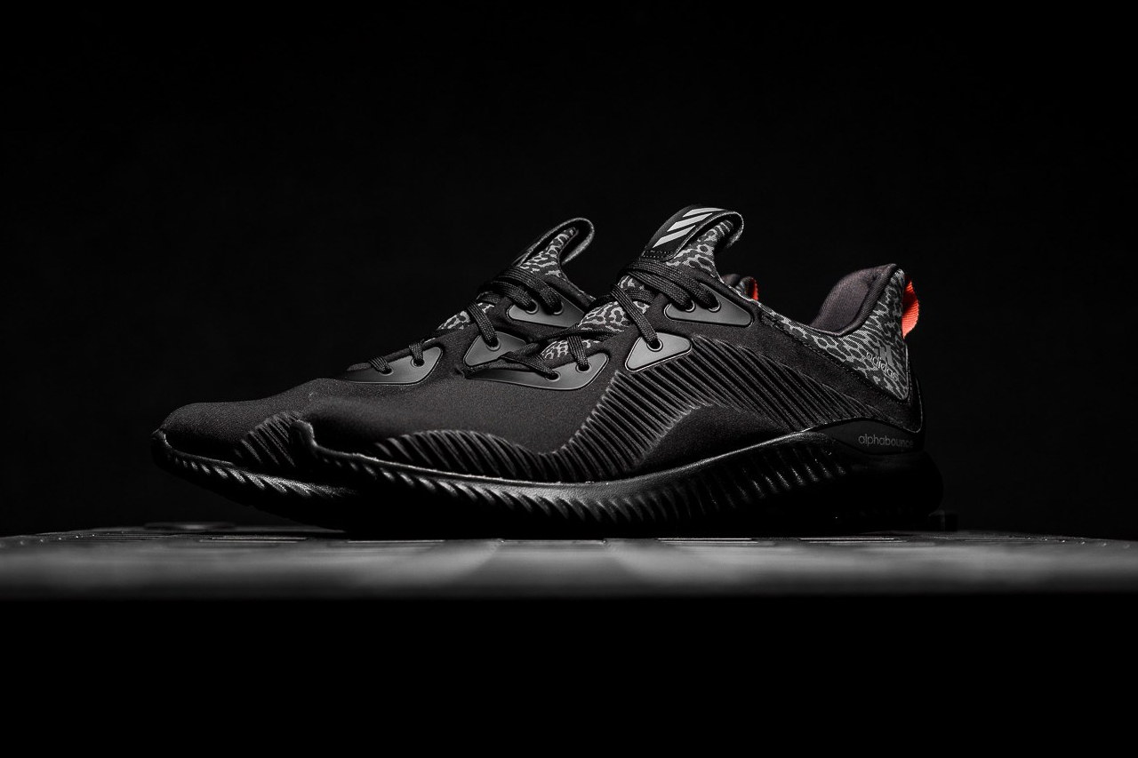 on sale 62600 6794c adidas AlphaBOUNCE quotCore Blackquot Closer Look  HYPEBEAST