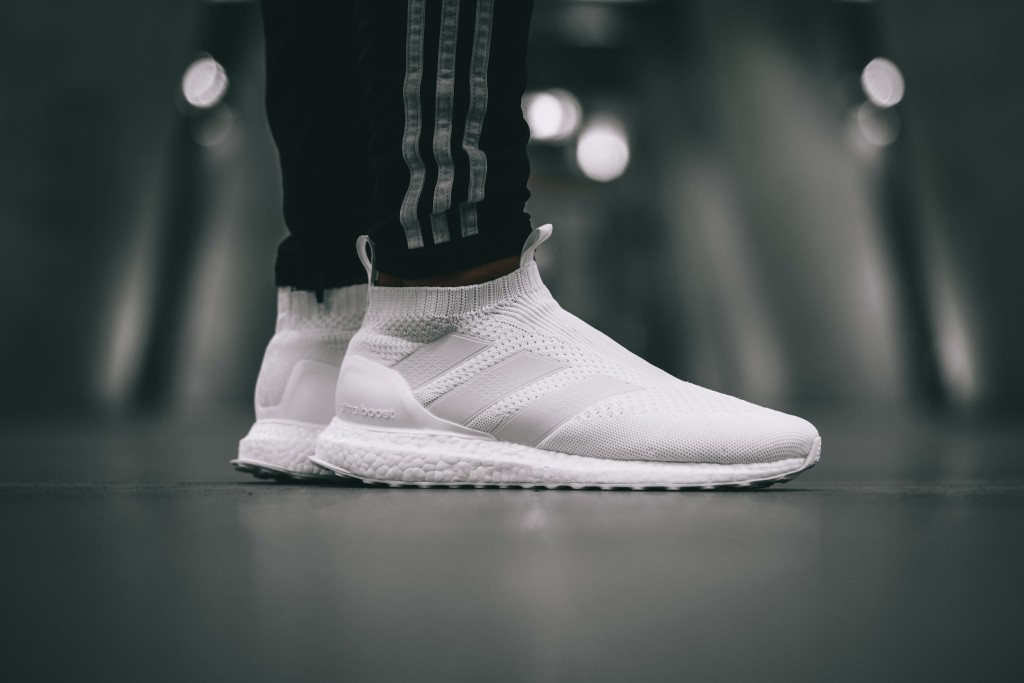 adidas purecontrol ultra boost triple white hypebeast. Black Bedroom Furniture Sets. Home Design Ideas