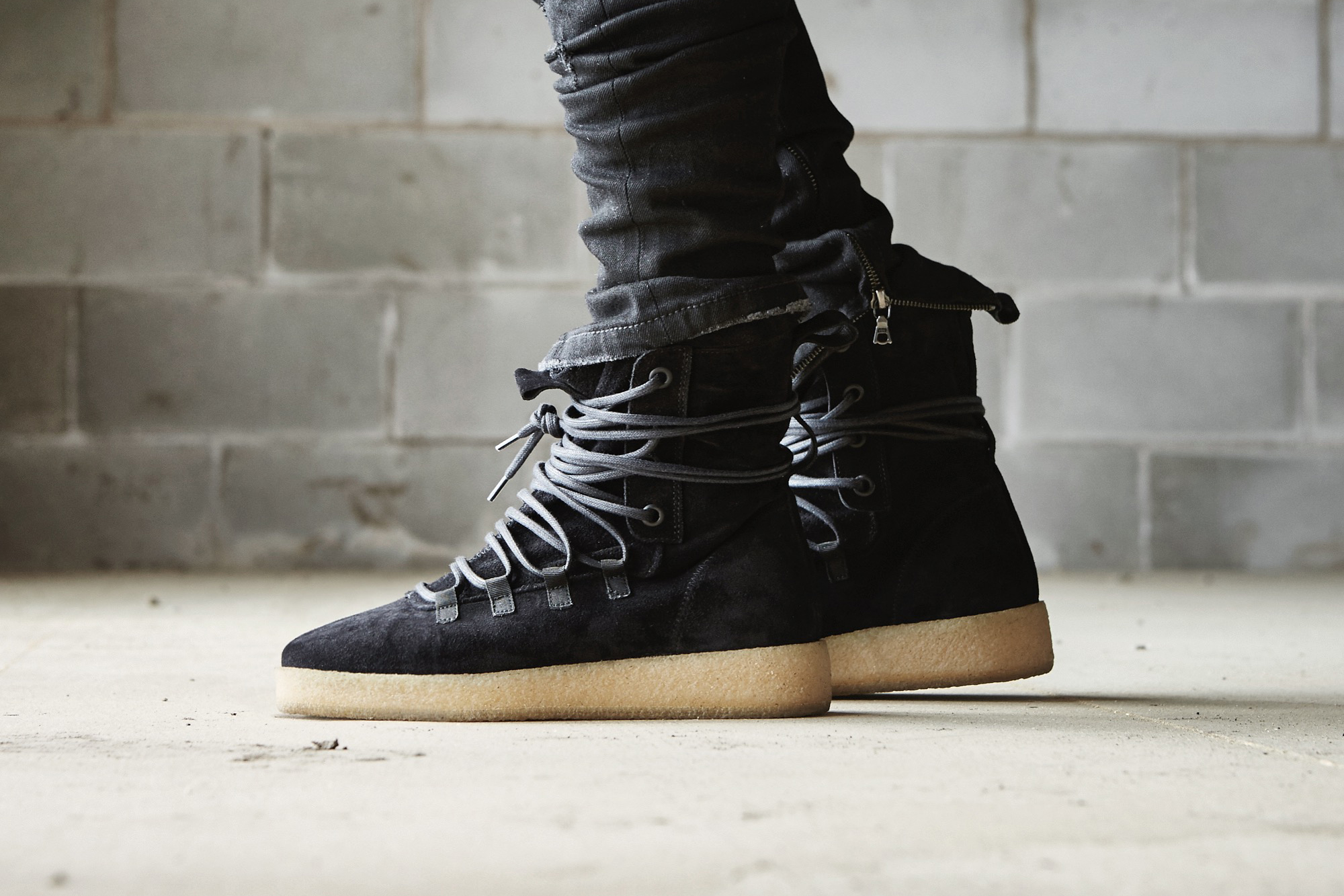 Represent Dusk Boot In Black Brown And Stone Hypebeast