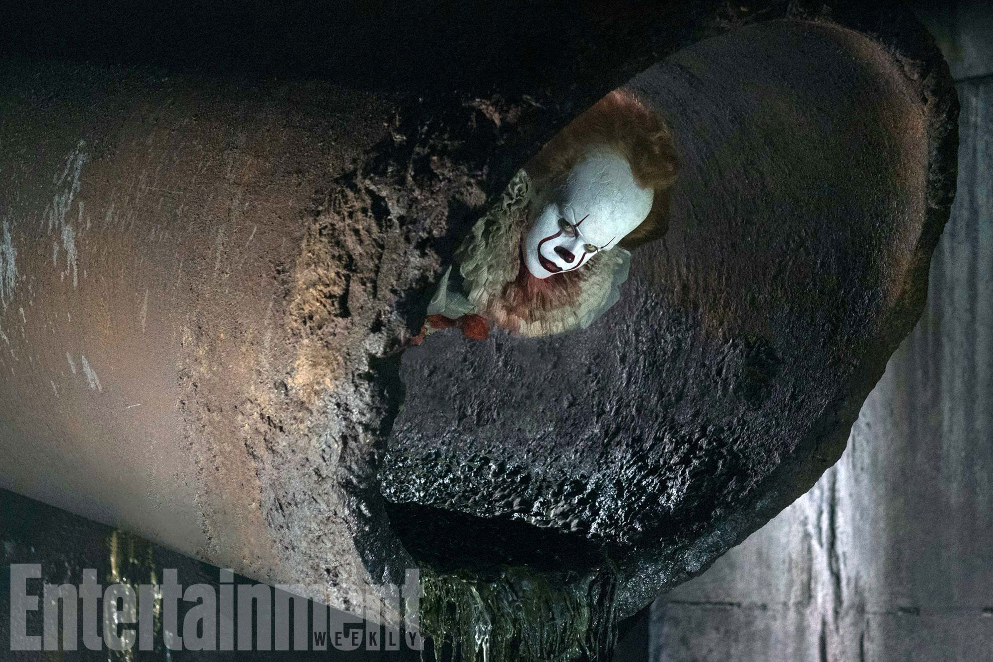pennywise the clown image it movie new image  pennywise the clown sewer
