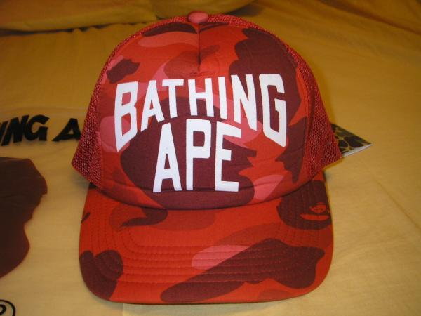 A Bathing Ape 1st series Camo Trucker Retro  a0d57ed4ce9