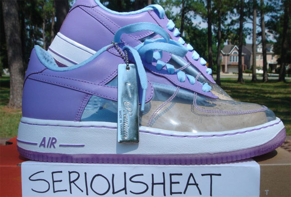 Nike Clear Mujeres Clear Nike Air Force Ones Hypebeast 79682a