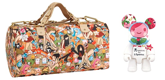 LeSportsac Large Weekender Product Features Nylon Zipper closure Product Description This large weekender from LeSportsac will comfortably hold all of your things while keeping your style in play.