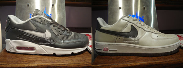 air max 90 vs air force 1
