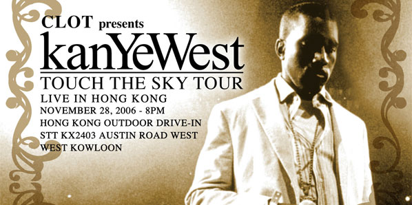 "CLOT Presents ""Touch The Sky"" Tour with Kanye West"