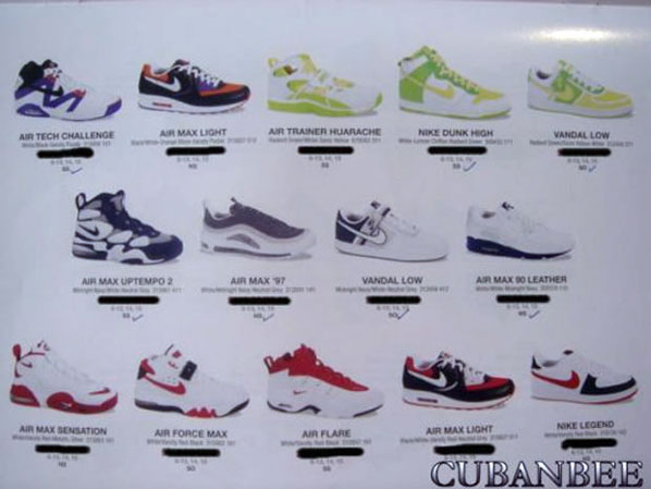 Nike 2007 Spring Summer Collection  5b4500976119
