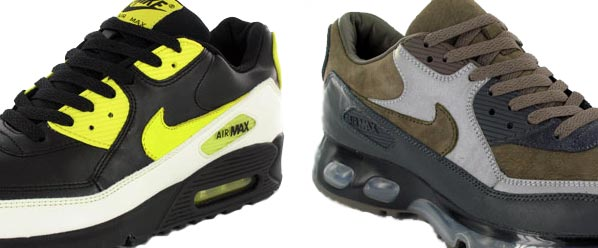 Here we take a look at some possible up coming samples from Nike's Air Max  lineup which includes two pairs of AM 90's, 1 pair of AM 1's from the skull  pack ...